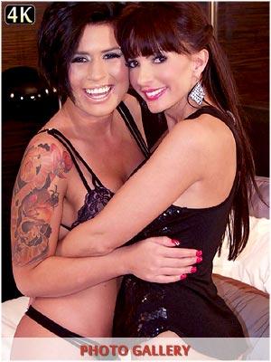 Catalina Cruz fucking Eva Angelina pussy live on cam