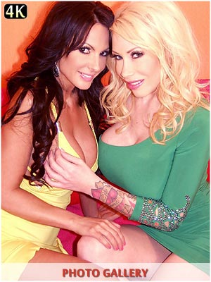 Candy Manson loves dick down her throat with Catalina Cruz