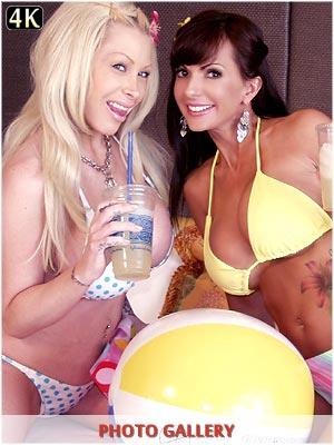 Candy Manson porn fucking with babe Catalina Cruz threesome