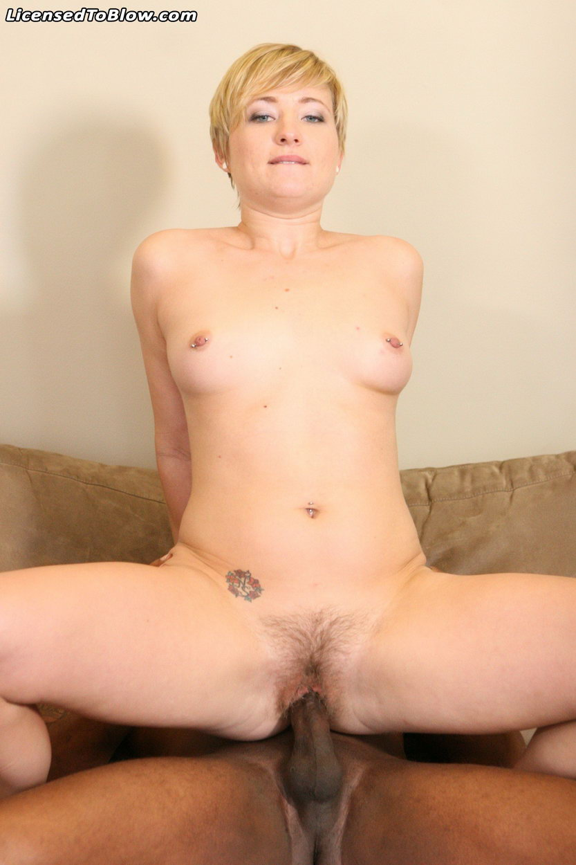 Blonde needs lot of your sperm
