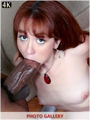 Trinity Post fucked in the ass with a monster black cock