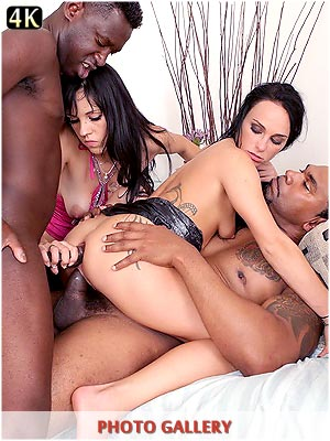 Wild sex party in Europe with Angel Diamonds and Morgan Moon