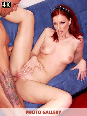 Stella Red fucked with a big cock and drinks a load of hot cum