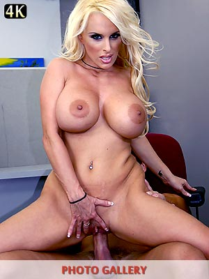 Cum hungry milf Holly Halston big tits bouncing while fucking