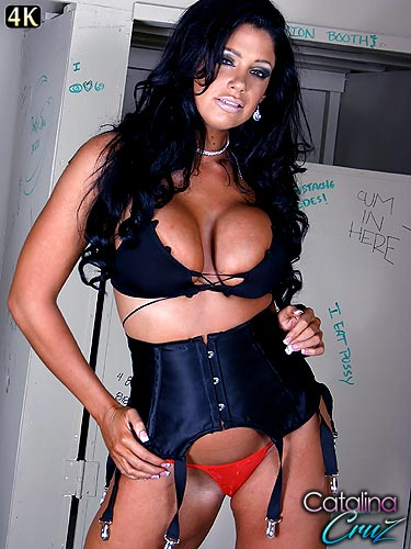 Busty milf Angela Aspen showing off her sexy lingerie before sex