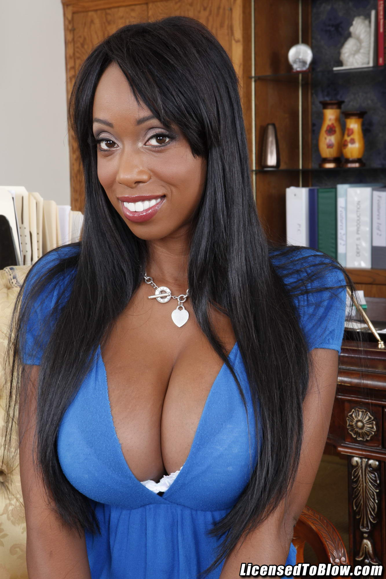 Codi Bryant is a black milf who is addicted to white dick ...